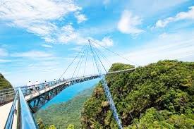Malezya Gökyüzü Köprüsü Deniz Manzarası