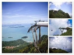 Malezya Gökyüzü Köprüsü İnşaat Hali