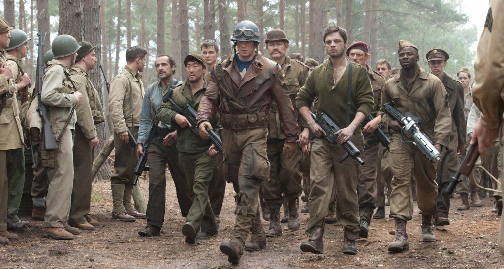 İlk Yenilmez: Kaptan Amerika, Marvel