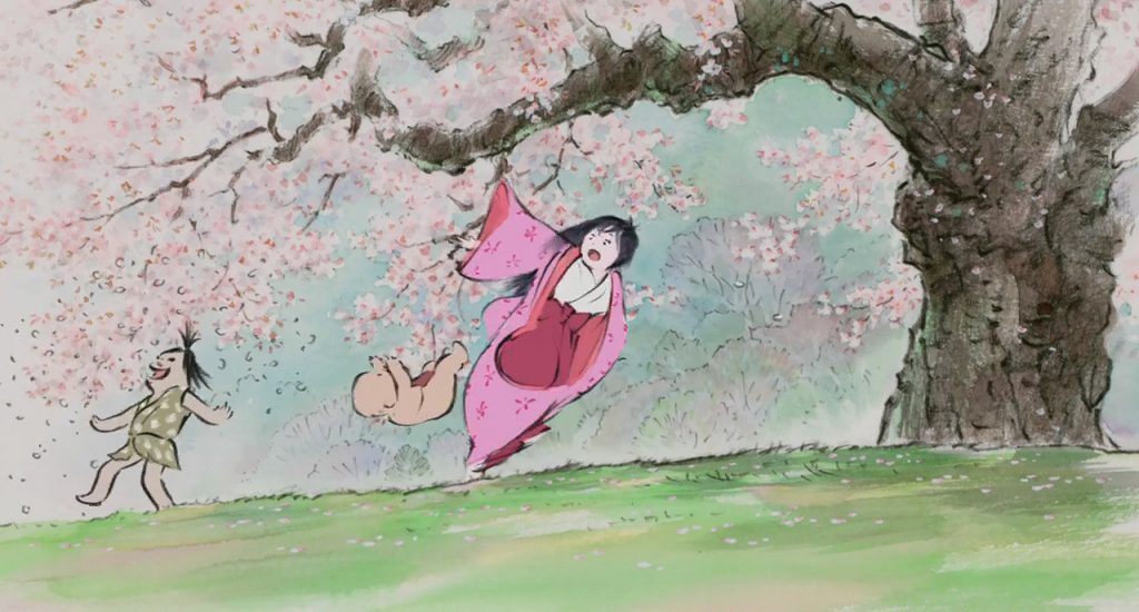 The Tale of The Princess Kaguya, Isao Takahata - 2013